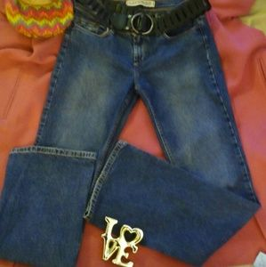 EXPRESS JEANS 5/6 flare